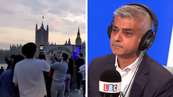 Sadiq Khan had concerns over police not obeying social distancing guidelines