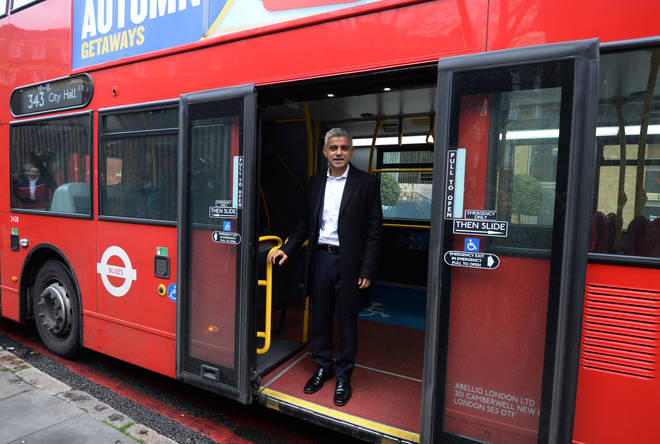 Sadiq Khan made the announcement on Thursday