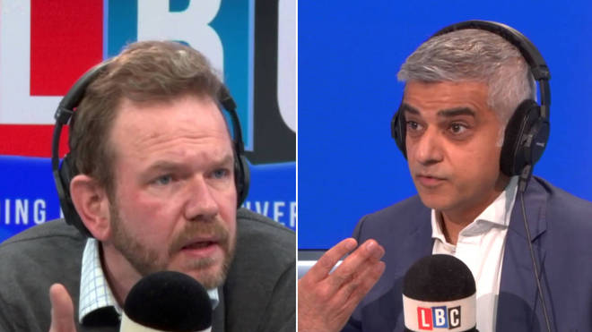 James O'Brien asked Sadiq Khan about the government's refusal to request a Brexit extension