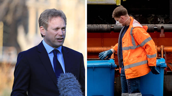 Grant Shapps dismissed suggestions we should all be wearing facemasks