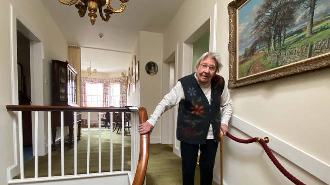 Margaret Payne will need to take 282 trips upstairs to reach the equivalent of the height of Suilven