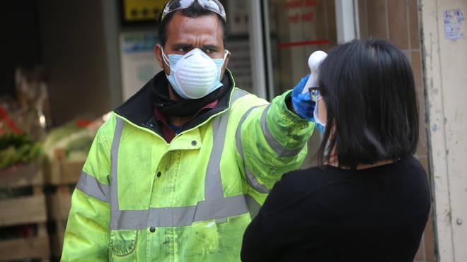 The UK coronavirus death toll rose by 847