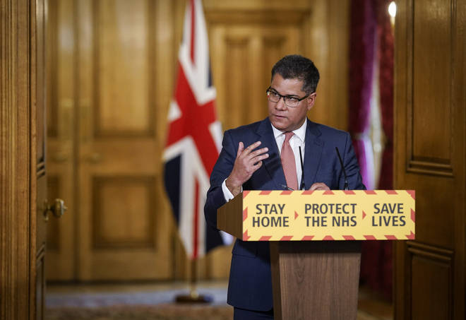 Alok Sharma announced £14million of investment into a vaccine task-force earlier today
