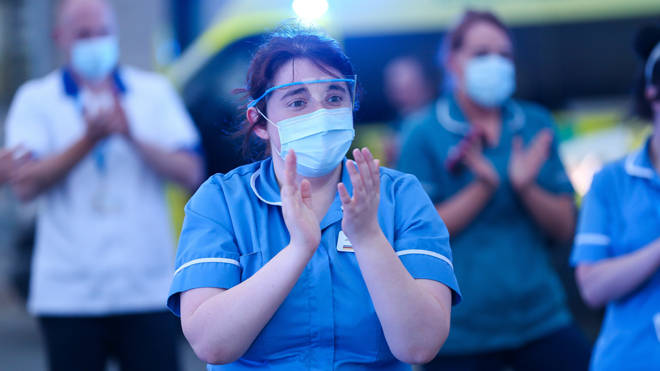 NHS workers could run out of some PPE within hours, it was warned today