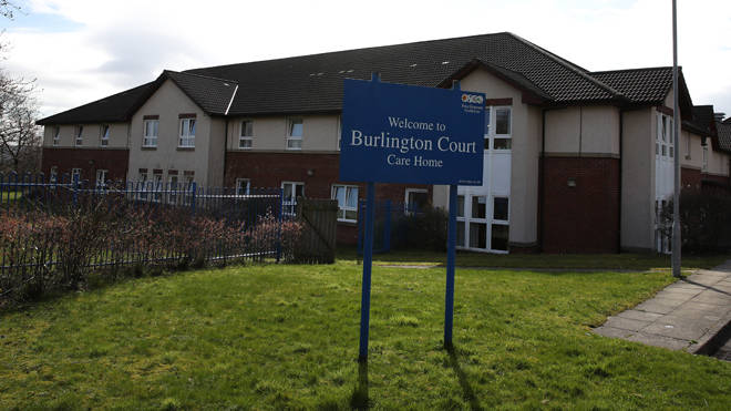 Burlington Court Care Home in Glasgow where 16 residents have died from Coronavirus