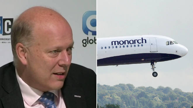 Chris Grayling told of the government's plans to bring people home
