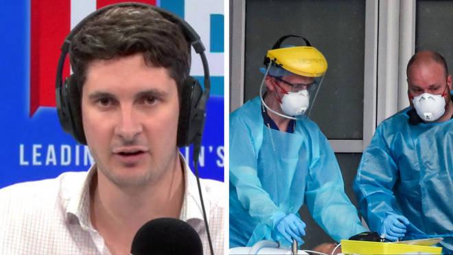Tom Swarbrick spoke to the Doctors' Association over lack of PPE