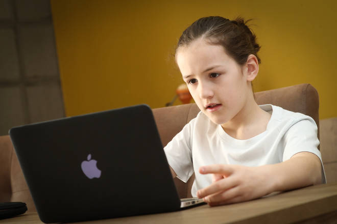 Pupils from poorer backgrounds will receive free laptops and tablets