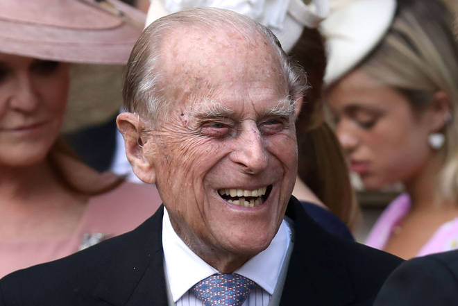 Prince Philip has issued a rare message from retirement