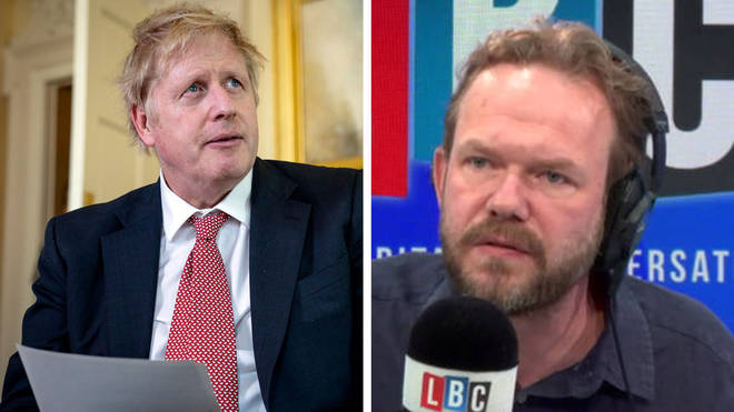 James O'Brien's caller tried to defend Boris Johnson, but it didn't go very well