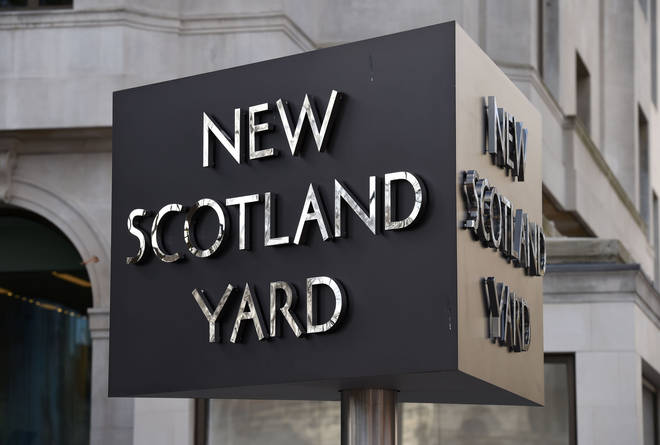 The Met Police said violent crime is down overall during the lockdown