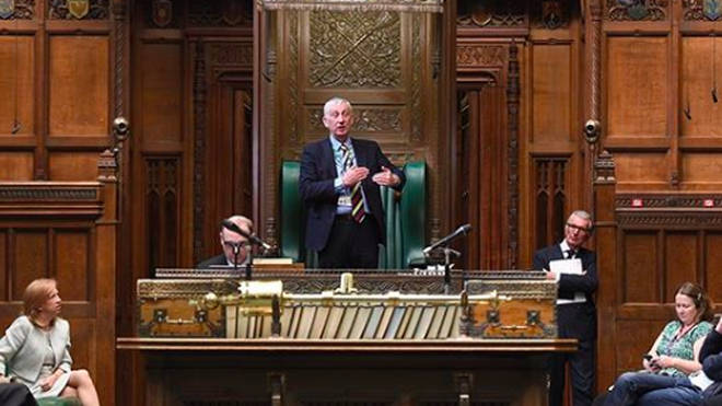 Strict social distancing arrangements will be in force with MPs required to sit two metres apart