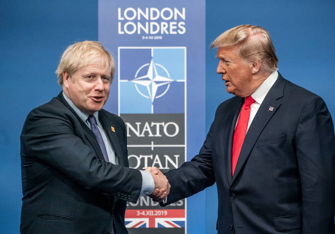 Boris Johnson will speak with Donald Trump