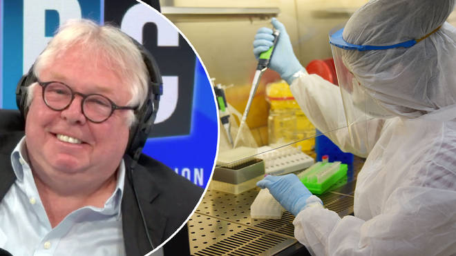 Nick Ferrari spoke to the professor behind a new coronavirus vaccine trial