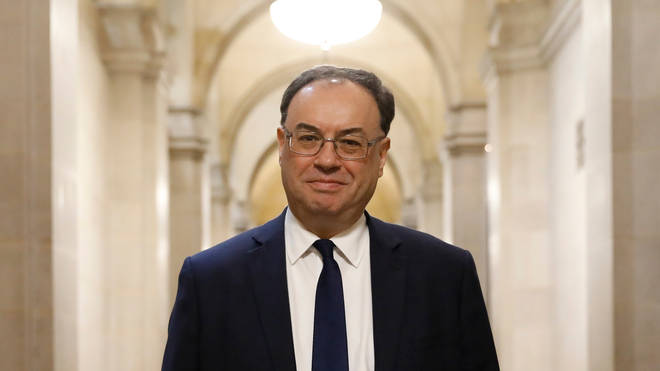File photo: Bank of England chief Andrew Bailey said Britons should be cautious about easing restrictions