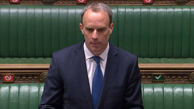 Dominic Raab stood in for Boris Johnson, who is still recovering from coronavirus