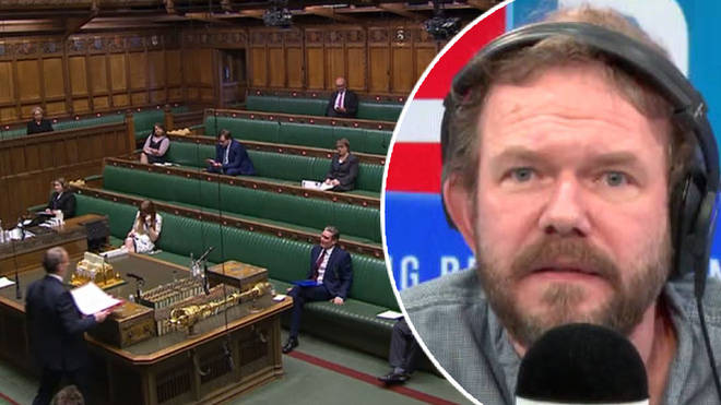 James O'Brien responded to the unusual PMQs session