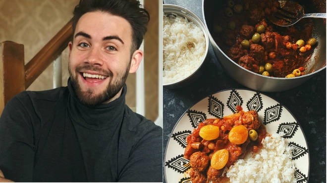 Anthony O'Shaughnessy has been making gourmet dinners for his elderly neighbour