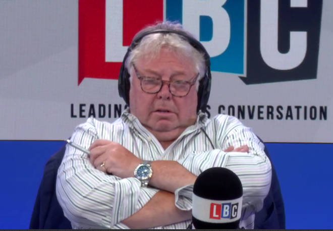 Nick Ferrari Looked Uncomfortable When Ken Marsh Described Being Spat At