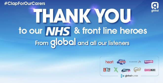 Thank you to the NHS and frontline heroes!