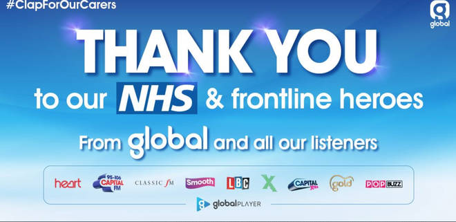 Global joined the nation in clapping for our carers
