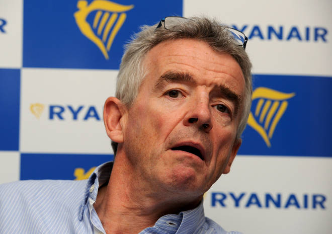 The Ryanair chief claimed a Virgin Airlines bailout would fleece the British taxpayer