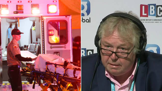 Nick Ferrari criticised the gun campaigner for his comments