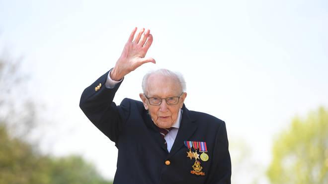The Second World War veteran celebrates his 100th birthday this week