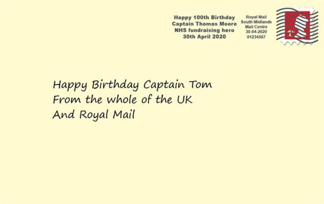 Captain Tom Moore celebrates his 100th birthday on Thursday
