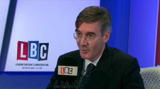 Jacob Rees-Mogg live on LBC