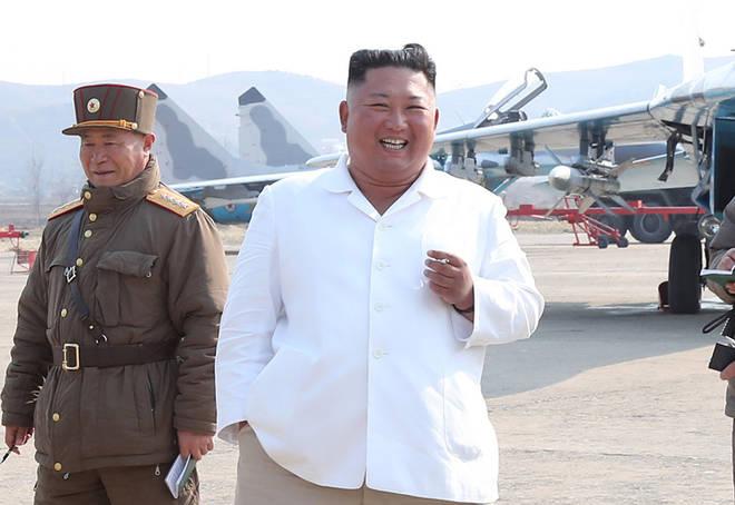 Kim Jong Un was last seen in public on 11 April