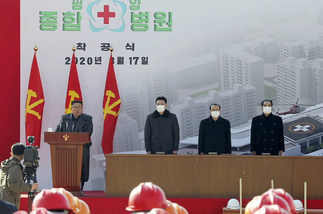 North Korea has not yet commented on the rumours