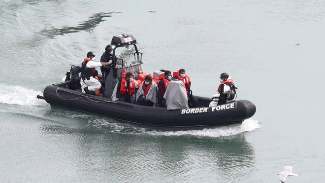 At least 47 people were intercepted by UK Border Force officers