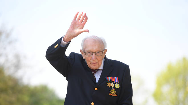Captain Tom Moore will celebrate his 100th birthday on Thursday