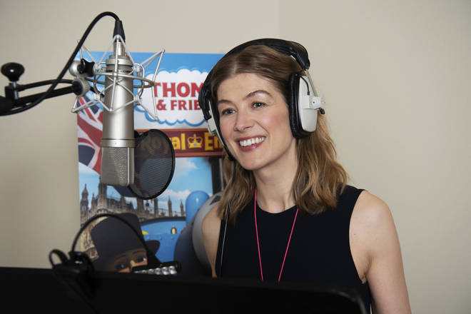 Rosamund Pike will feature in the show