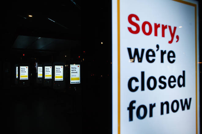 McDonalds is not open for takeaway or delivery currently