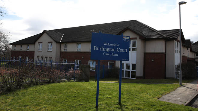 Burlington Court Care Home in Glasgow where 16 residents have died from Coronaviru