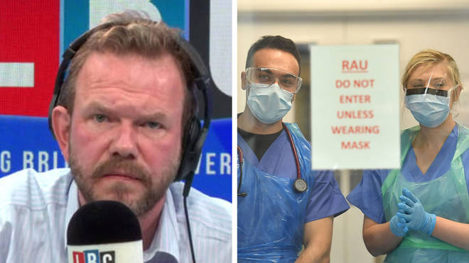 James O'Brien made an excellent point about PPE shortages