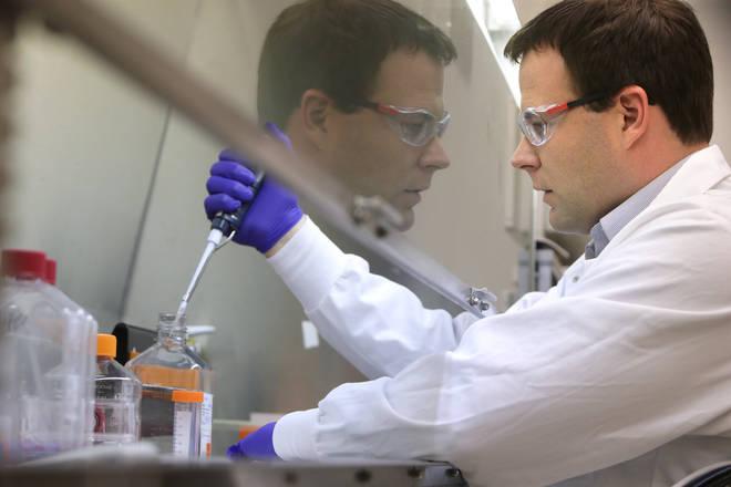 Professor Pollard told LBC vaccines have begun with two patients