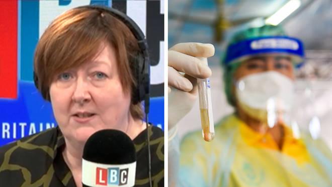 Shelagh Fogarty heard where the UK went wrong on coronavirus testing