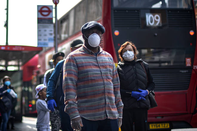 The Mayor of London told LBC he is close to recommending Londoners wear facial coverings