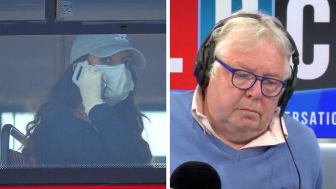 Nick Ferrari spoke to Sir David King on whether people should wear facemasks