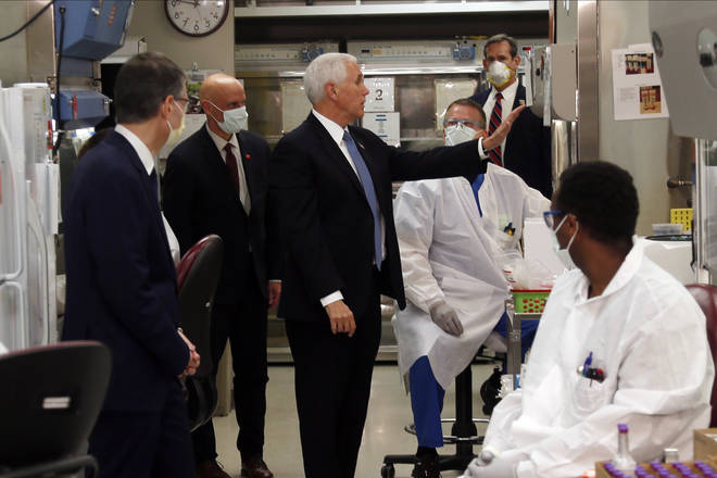 The Vice President met with staff at the Mayo Clinic