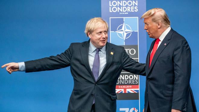 Boris Johnson's Covid-19 response has been compared with Donald Trump's