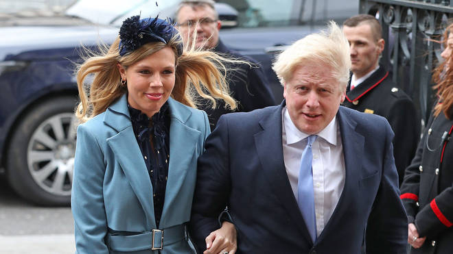 "Carrie Symonds has had a ""healthy baby boy"""