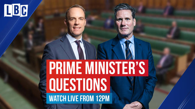 It's Raab v Starmer again at PMQs