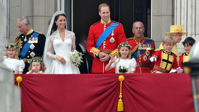 The family make the appearance on the Buckingham Palace balcony