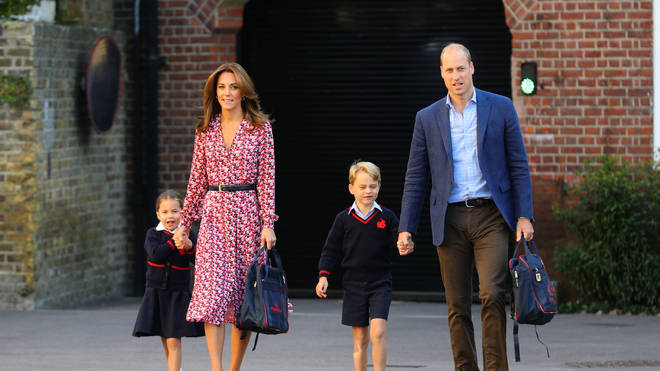 Kate and William are now parents to George, six and Charlotte, four