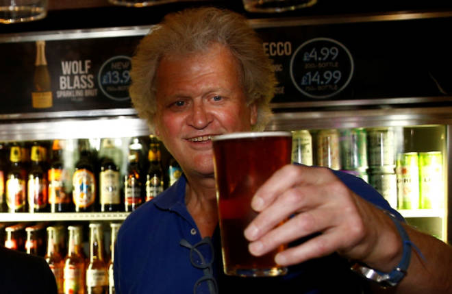 Tim Martin hopes to reopen pubs in or around June