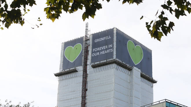 Grenfell Tower, in west London, went up in flames on June 14 2017